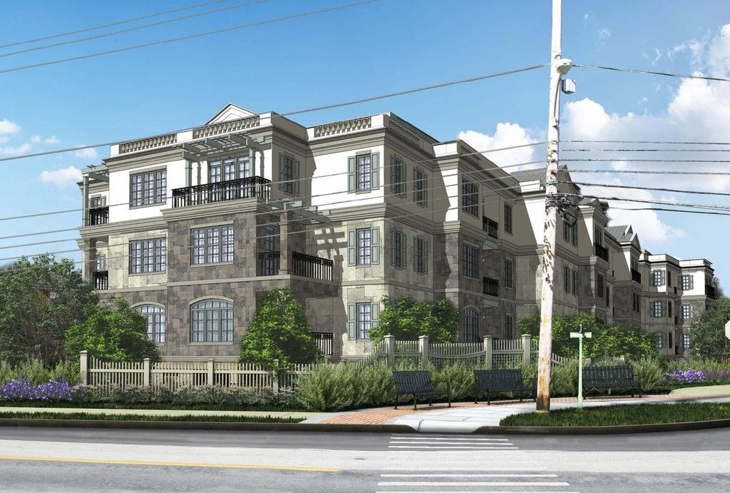 Architectural rendering of 100 St. Georges Lane