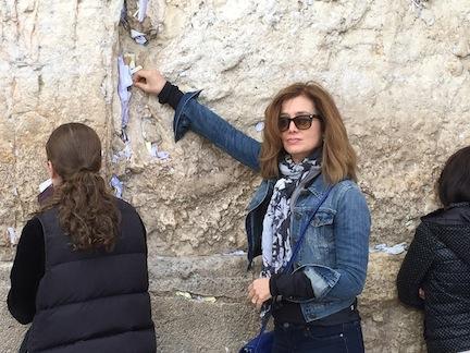 israel western wall me