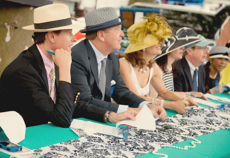 TV fashionista Carson Kressley leads the 2014 Ladies Day judging panel. (photo by Brenda Carpenter)