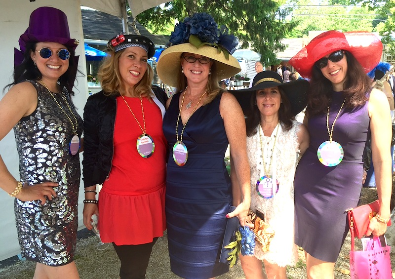 Still in mourning over Prince, this group entry each wore a different Prince album around her neck: Amy Mezrow, Heidi Tirjan, Heather Bendit, Suzin Levy, Jennifer Leach.
