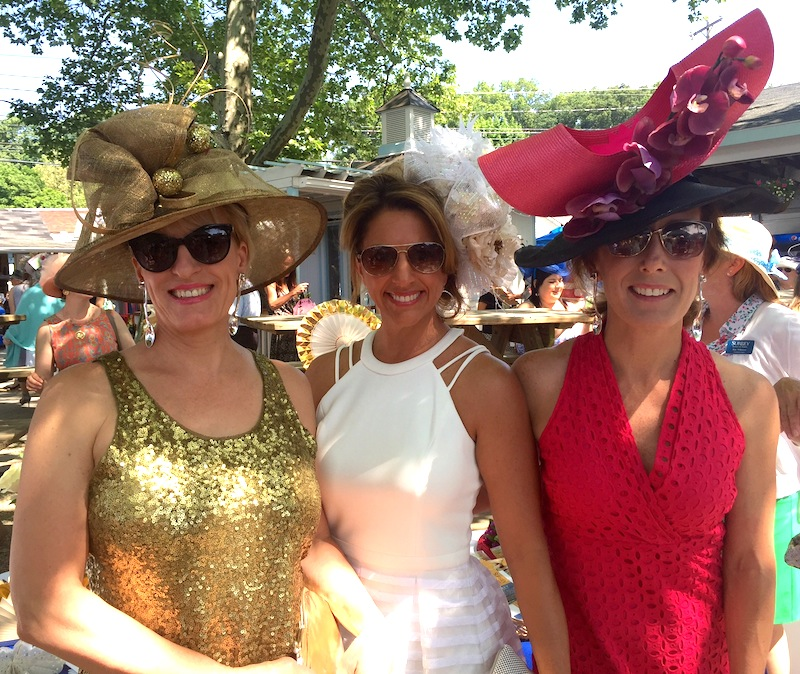 Christie Tomacchio, Elizabeth Frame and Dori Nugent.