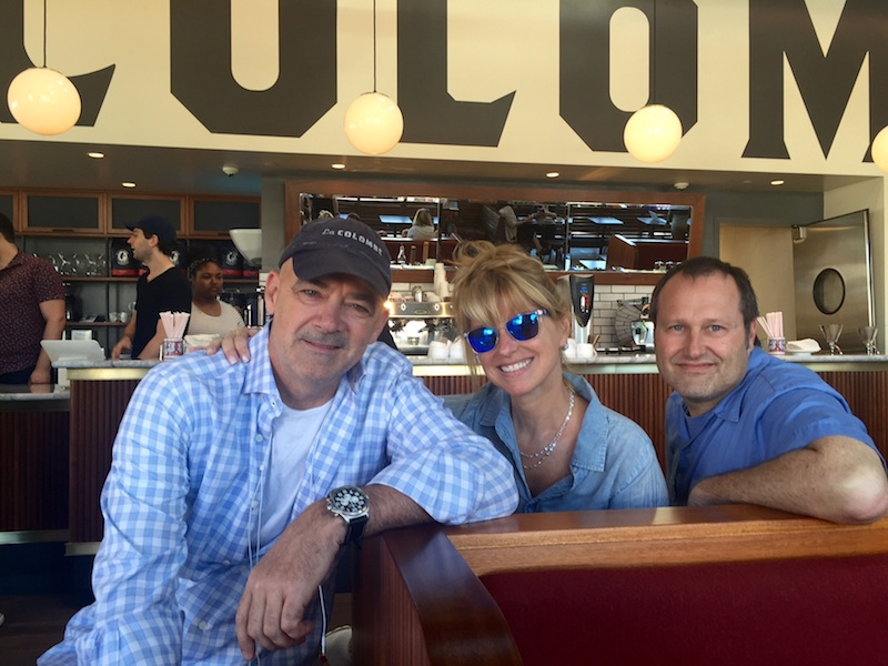 Todd and his wife, singer-songwriter Lauren Hart and her brother, Brian, who runs La Colombe's 17 cafés.
