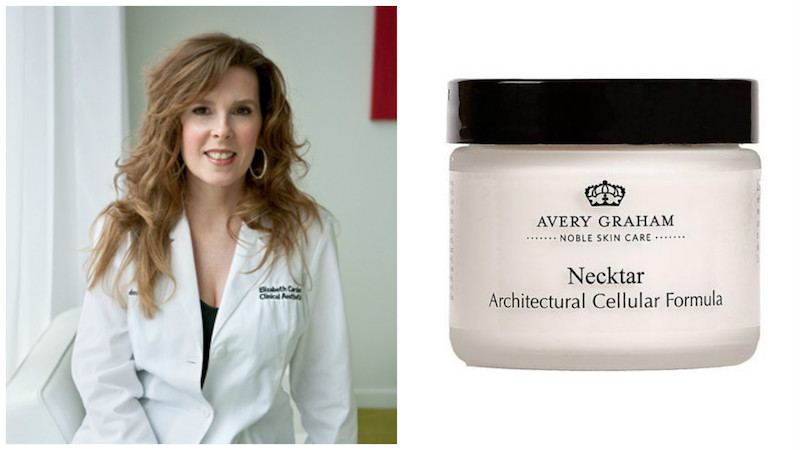 Avery Graham founder Beth Cardarelli, a clinical aesthetician at deme in Wayne and Center City, just added Necktar to her popular skin care line.