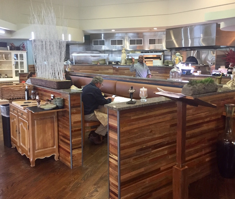 The open kitchen at Eatnic.