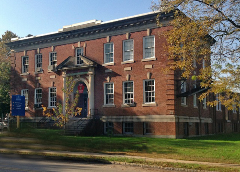 Built in 1915, the Knauer Performing Arts Center was once West Chester's National Guard Amory.