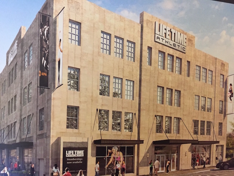 Luxurious Life Time Athletic Drybar Coming To Ardmore