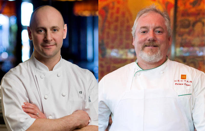 Chefs Patrick and Terence Feury.