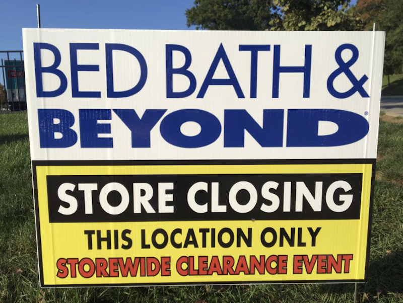 Bed Bath And Beyond Radnor Closing